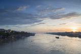 Ben Tre River at Dawn  Ben Tre  Mekong Delta  Vietnam  Indochina  Southeast Asia  Asia