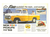 Ford 1959 Go Forward for Style