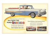 Ford 1958 All New `58 Ranchero