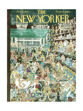 The New Yorker Cover - January 23  1960