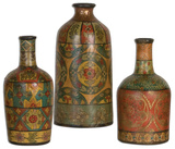 Sachi Terracotta Vases S/3