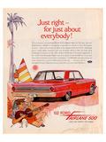 Ford 1962 Fairlane 500 - Beach