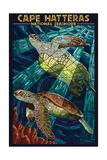Cape Hatteras National Seashore - Sea Turtle Mosaic
