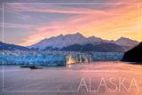 Alaska - Glacier at Sunrise