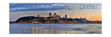 Quebec  Canada - Skyline at Sunset Panoramic