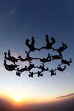 Skydiving Scene
