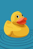 Rubber Duck - Letterpress