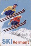 Ski Vermont - Vintage Skiers