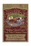 Carriage Tours - Vintage Sign