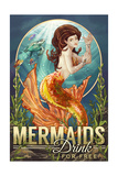 Mermaids Drink for Free