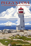 Peggy's Cove Lighthouse - Nova Scotia