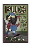 Pug - Retro Plumbing Ad