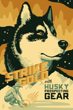 Husky - Retro Gold Mining Ad