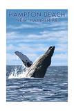 Hampton Beach  New Hampshire - Humback Whale