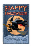 Witch - Vintage Sign