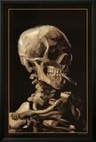 Skull With Cigarette  1885
