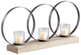Ohhh Three Candle Candleholder