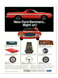 Ford1972 Ranchero Right On!