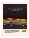 Ford 1968 Torino's In-Pace Car