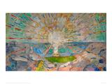 Le soleil Giclée par Edvard Munch