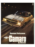 GM Chevy Comaro Performance