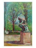 The Thinker by Rodin  1907