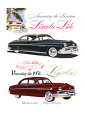 Lincoln 1951 Luxurious Lido