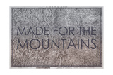 Made for the Mountains - 1894  Colorado State Map in Relief  Colorado  United States Map