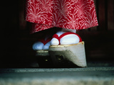 Traditional Geta (Wooden Sandals)  Kyoto  Kinki  Japan