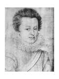 Portrait of Cesar De Bourbon (1594-1665)  Duke De Vendome