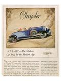 New Chrysler 75-The Modern Car
