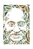 Mahatma Gandhi Tableau sur toile par Cristian Mielu