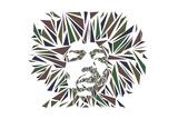 Jimi Hendrix Reproduction d'art par Cristian Mielu