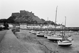 General View of the Harbour in St Helier 1977