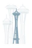 Seattle Tableau sur toile par Cristian Mielu