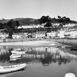 View of Gorey Harbour on the Island of Jersey  1965
