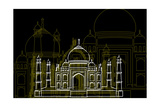 Taj Mahal Night
