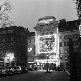 Leicester Square Theatre in London's West End April 1958