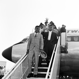 Cassius Clay in London for His First Fight Henry Cooper