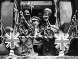 Street Party for Coronation of Queen Elizabeth Ii