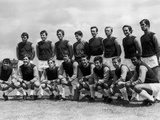 West Ham United line up for pre season team photograph  1968