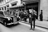 Sex Pistols News Press Conference Outside Buckingham Palace 1977