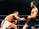 Chris Eubank V Nigel Benn Fight at the Nec in Birmingham  1990