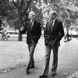 Henry Fonda and James Stewart in London  1975