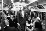 Michael Caine on the London Underground  1973
