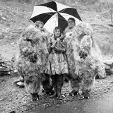 Dr Who Actor Patrick Troughton Filming in Snowdonia  1967