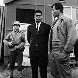 "Cassius Clay on the Film Set of ""The Dirty Dozen"""