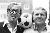 Michael Caine and Bobby Moore  1981