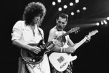 Rock Group Queen in Concert at Wembley Arena 1984