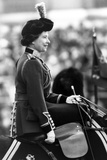 The Queen at Trooping of the Colour Ceremony 1980